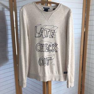 "Medium Scotch & Soda ""Late Check Out"" sweatshirt"